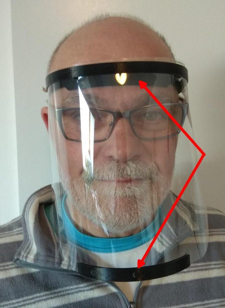 Schutzvisier-3D